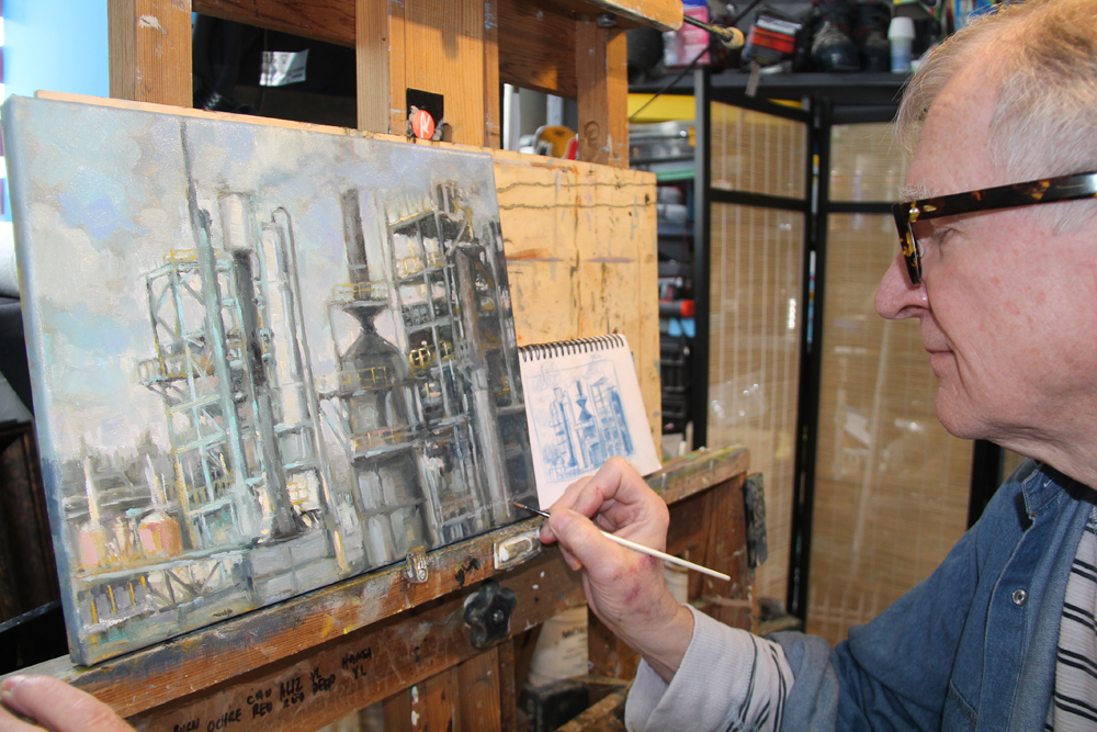 Prince george free press old world art inspires modern day oil painter - An artists home ...