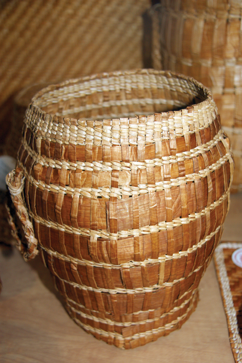 Basket Weaving Origin : Prince george free press ? baskets reflect history
