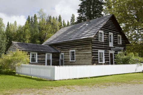 The historic Cottonwood House, located between Quesnel and Barkerville. Photo courtesy of the Cariboo-Chilcotin-Coast Tourism Association