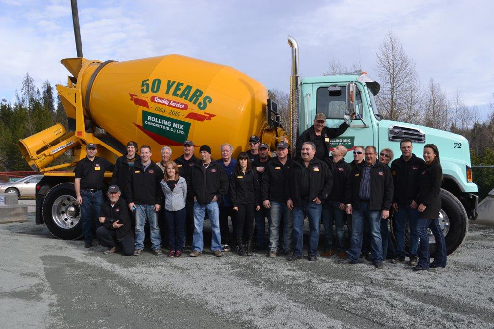 Rolling Mix Concrete is celebrating 50 years in business. The long-time Prince George business hosted a well-attended open house at their Foothills Boulevard location on Friday.