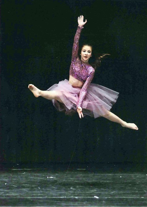 Kalina Cook, 12, performs a solo lyrical number at the 39th annual Prince George Dance Festival which wrapped up on Monday. Photo courtesy of Clarke Action Photography